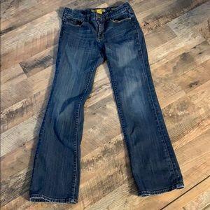 Seven7 premium denim jeans. Boot cut size 6
